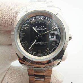 Rolex Datejust 116200 Siyah 36mm 904L Paslanmaz Çelik Otomatik Saat