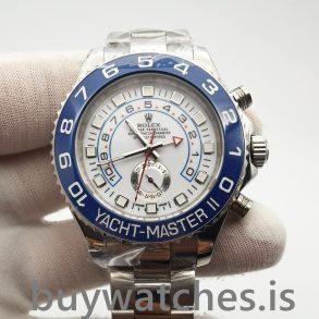 Rolex Yacht-master 116680 Erkek Otomatik Beyaz 44 mm Çelik Saat