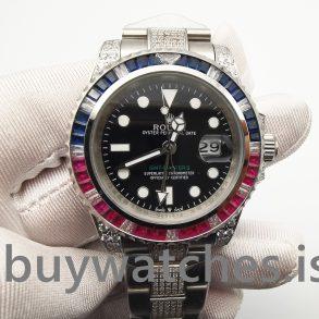 Rolex GMT-Master Ii 116759 Siyah Elmaslı 40 mm Erkek Otomatik İzle