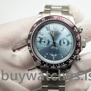 Rolex Daytona 116506 Açık Mavi Erkek Otomatik 950 Platin Saat
