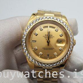 Rolex Day-Date 128348rbr 36 mm Altın Pırlantalı Unisex Otomatik Saat