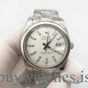 Rolex Datejust 126300 Erkek Referans 41 Gümüş Kadran Oystersteel Saat