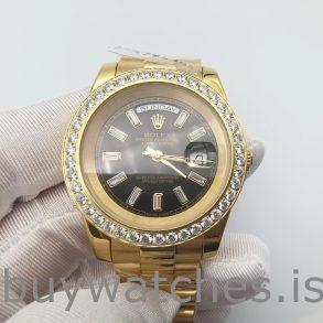 Rolex Day-Date 228348RBR 18 Ayar Altın Pırlantalı 40 mm Otomatik Saat
