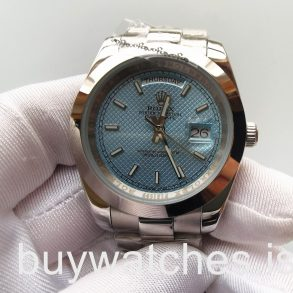 Rolex Day-Date 228206 Mans 40 Mm Mavi Kadran Stili Otomatik Çelik Saat
