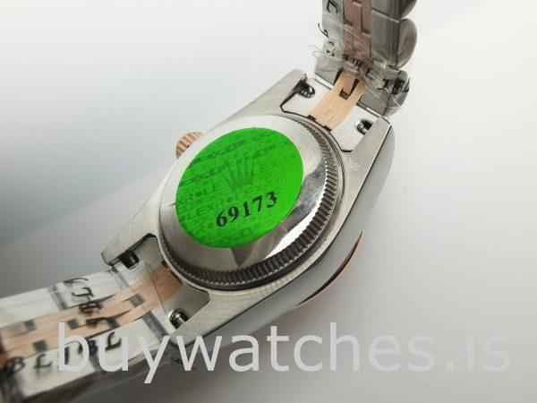 Rolex Datejust 278271 Kadınlar 31mm Gül Altın Çelik Otomatik İzle