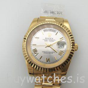 Rolex Day-Date II 218238 Otomatik Erkek 41 mm Sarı Altın Çelik Saat