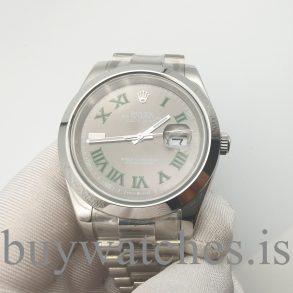 Rolex Datejust 126300 Çelik Gri Unisex 41 mm Katlanır Toka Otomatik Saat