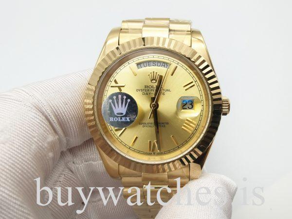 Rolex Day-Date 228238З Sarı Altın 40 mm Unisex Otomatik Çelik Saat