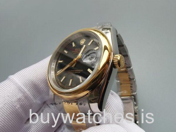 Rolex Datejust 126303 Siyah 41mm Paslanmaz Çelik Otomatik saat