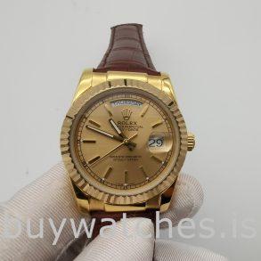 Rolex Day-Date 1503 Unisex Altın Timsah Derisi 34 mm Otomatik Saat