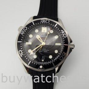 Omega 210.22.42.20.01.004 Seamaster Siyah Kauçuk 42 mm Otomatik Saat