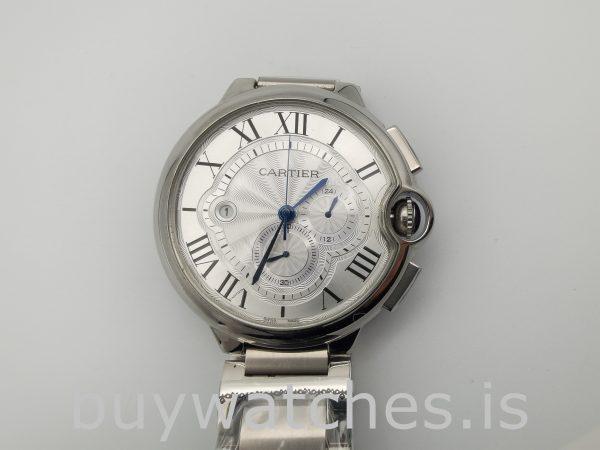 Cartier Ballon Bleu W6920002 Gümüş Erkek Çelik 47mm Otomatik Saat