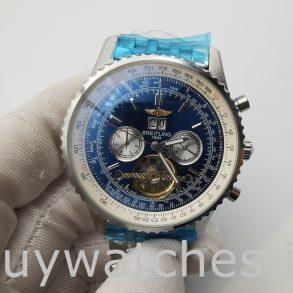 Breitling Navitimer A24322 Erkek 46mm Mavi Kadran Otomatik İzle