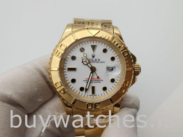 Rolex Yacht-Master 16628 Erkek 40mm 18k Sarı Altın Otomatik Saat