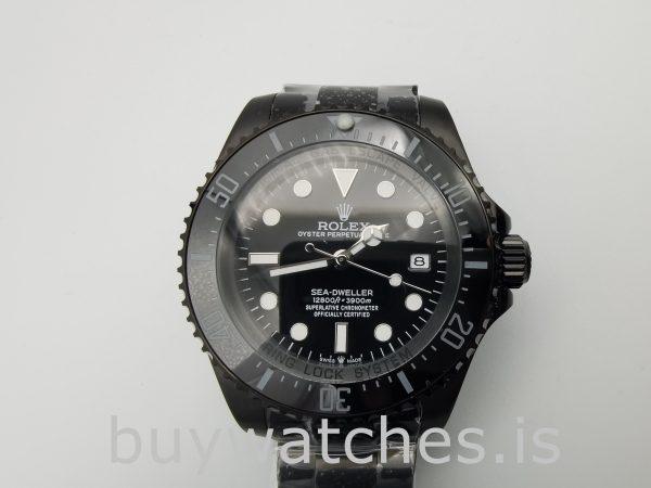 Rolex Deepsea 116660 Otomatik Siyah Paslanmaz Çelik 44 mm Saat