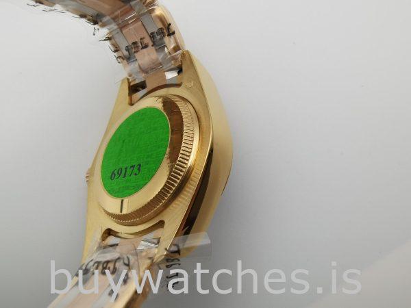Rolex Datejust 80299 Bayanlar 18k Altın Otomatik 29mm Beyaz Kadranlı Saat