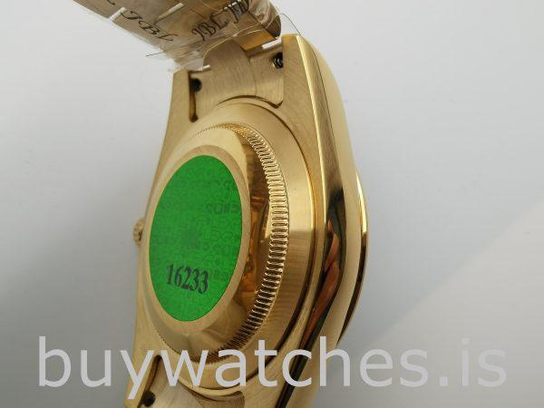 Rolex Day-Date II 218238 Erkek 41mm Gümüş Kadran Otomatik Saat