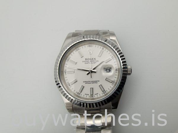Rolex Datejust 116300 Erkek 41mm Beyaz Kadran Çelik Otomatik İzle