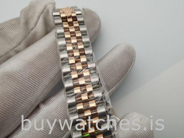 Rolex Datejust 178271 Unisex 31mm Pembe Çiçekli Kadran Otomatik Saat