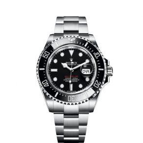 Rolex Sea-Dweller 126600 Siyah Çelik Yuvarlak 43mm İsviçre Otomatik Saat
