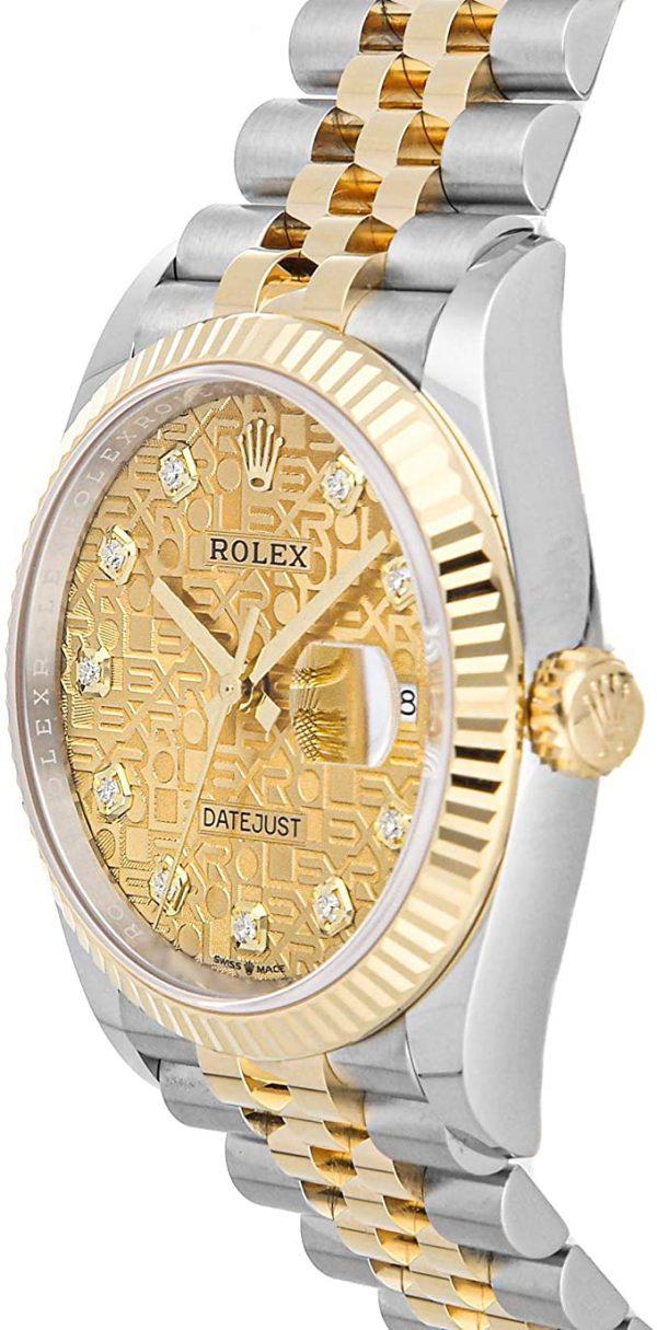 Rolex Datejust 126233 Bej Kadranlı Erkek 36mm Otomatik Saat