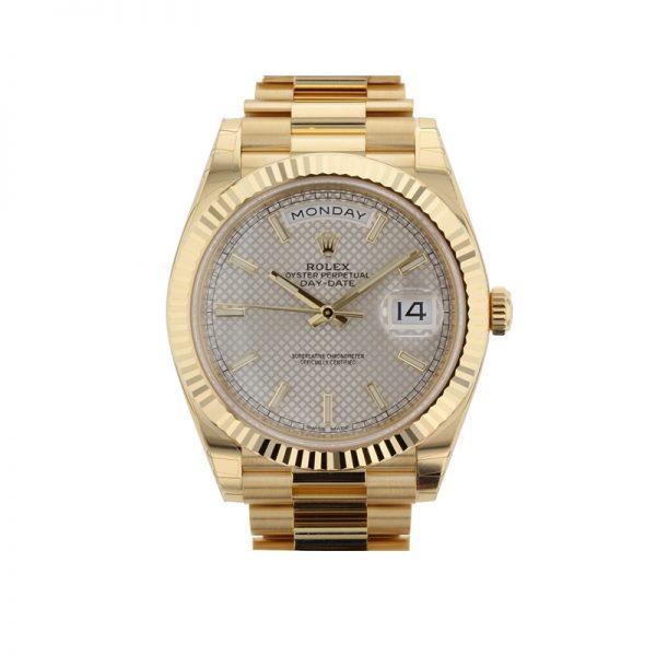 Rolex Day-Date 228238 Safir 40mm Sarı Altın Otomatik Saat