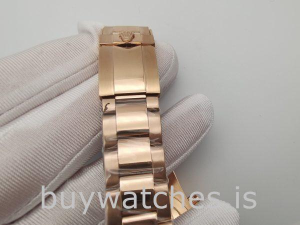 Rolex Daytona 116505 Erkek 40mm Gül Altın Kadran Otomatik Saat