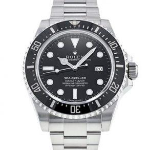Rolex Sea-Dweller 116600 Erkek 40mm Çelik Siyah Kadran Otomatik İzle
