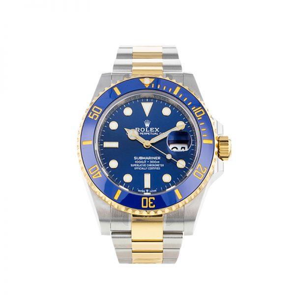 Rolex Submariner 126613 Erkek 41mm Çelik Mavi Kadran Otomatik İzle