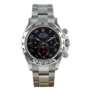 Rolex Daytona 116509 Siyah Kadran 40mm Safir İsviçre Otomatik Saat