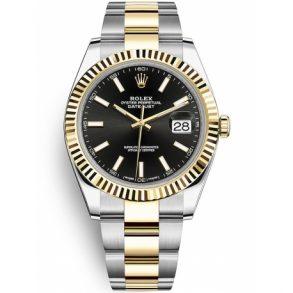 Rolex Datejust 126333 Erkek 41mm 18k Sarı Altın Otomatik İzle
