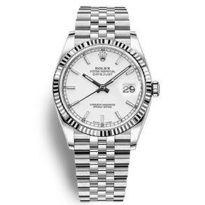 Rolex Datejust 116234 Replica Beyaz Kadran 36mm Bayan Saat